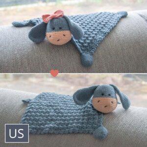 Crochet Cuddle Cloth Elly / Elliot DK - Hæklet nusseklud Elly / Elliot DK