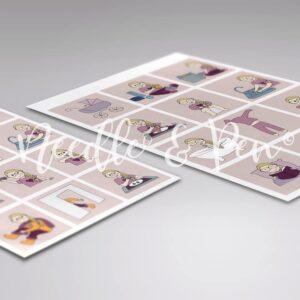 Personlige Print selv Piktogrammer - Custom printable pictograms - pictographs