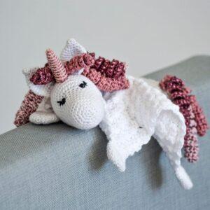Olivia Unicorn Cuddle Cloth - Olivia Enhjørning Nusseklud