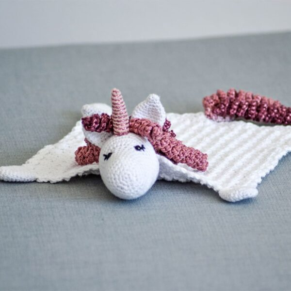 Olivia Unicorn Cuddle Cloth - Olivia Enhjørning Nusseklud