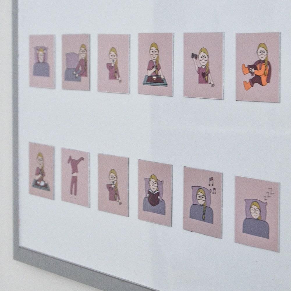 Piktogrammer - Magnetiske personlige piktogrammer. Piktogrammer til børn