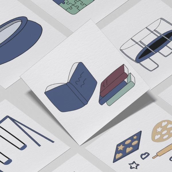 Piktogrammer til børn | Tilkøb: Aktivitets-pakken