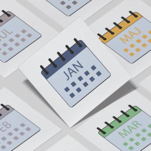 Piktogrammer til børn | Tilkøb: Kalender-pakken