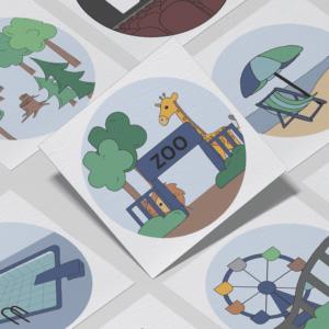 Piktogrammer til børn | Tilkøb: Oplevelses-pakken