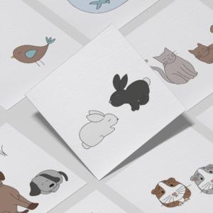 Piktogrammer til børn | Tilkøb: Kæledyrs-pakken